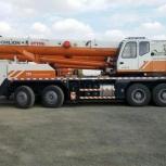 Автокран 70-тонник ищет работу, Челябинск