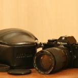 Зеркалка Nikon EM с объективом. Механика. Комплект, Челябинск