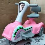 Детский электромобиль. Мотоцикл розовый Космо, Челябинск
