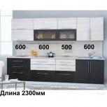 """Новая кухня """"дуэт-13 черно-белый"""", Челябинск"""