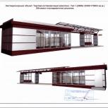 Торговый Павильон 36 кв.м Торгово-остановочный комплекс, Челябинск