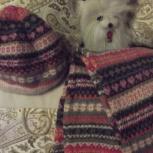 шапочка и шарф шерстяной, Челябинск