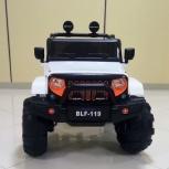 Электромобиль Jeep 4x4 BLF-119 колеса ПВХ, Челябинск