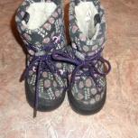 Детские сапожки на шнуровке EcoTex, Челябинск