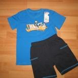 Костюм футболка и шорты новый для мальчика 110-116, Челябинск