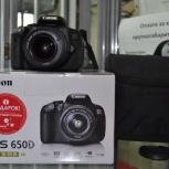 Фотоаппарат Canon EOS 650D Kit, Челябинск