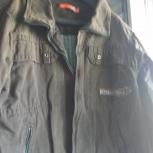 Джинсовая куртка хаки на подростка, Челябинск