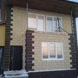 Монтаж фасада из камня, Челябинск