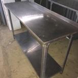 Стол разделочный L1500 нерж. сталь, Челябинск