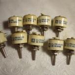 Резистор переменый ППБ-3А 3вт  на  68 ом, Челябинск