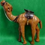 Верблюд Статуэтка из Кожи из Арабских Эмиратов, Челябинск