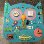 Бизиборды Бизи-Сова развивающие игрушки, Челябинск