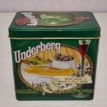Underberg 1997 подарочная жестяная банка германия, Челябинск