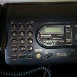 Телефон - факс Panasonic автоответчик Панасоник, Челябинск