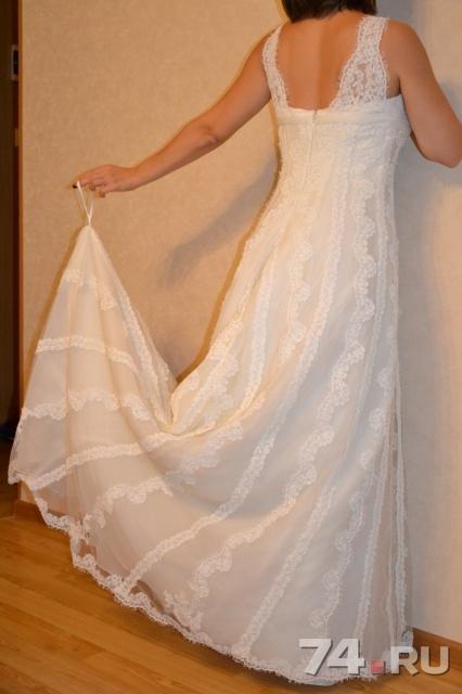 bbb494f610c22d4 Свадебное платье la sposa б/у, фото. Цена - 21000.00 руб., Челябинск ...