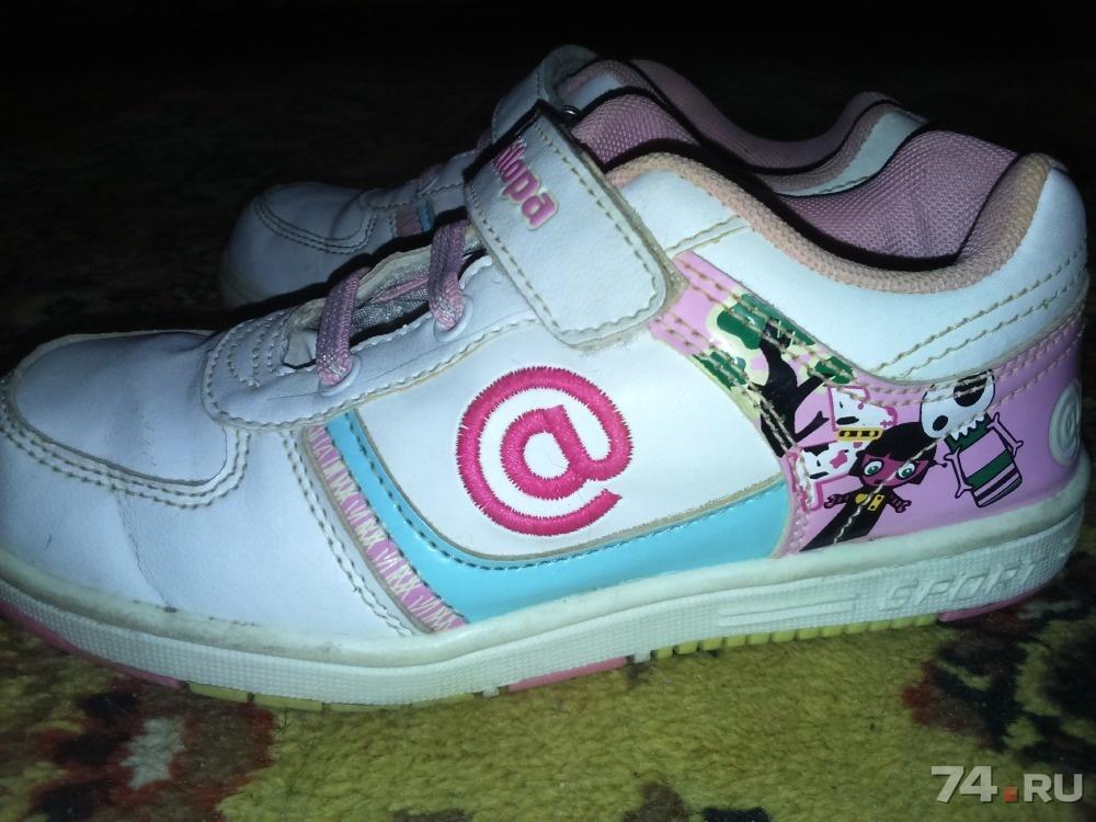 f1f3fe1fd18b Продам детские кроссовки на девочку б у фото, Цена - 500.00 руб., Челябинск  - 74.RU