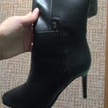 Новые зимние сапожки Benetti, черные, размер 36, Челябинск