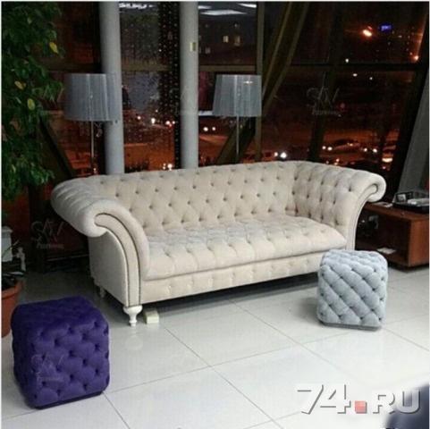 диван Chester Lux фабрика мебели Capitone Room фото цена