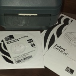 Термопринтер печати штрихкода Zebra GK-420d, Челябинск