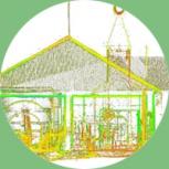 Обработка данных лазерного сканирования (3D съемки), Челябинск