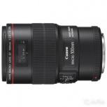 Объектив Canon EF 100mm f/2.8L Macro IS USM, Челябинск