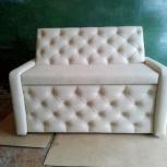 Кухонный диванчик в каретной стяжке.Новый, Челябинск