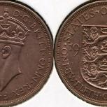 Монета 112 шиллинга Джерси 1937г, Челябинск