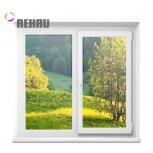 Окно ПВХ Rehau Blitz 1000х1000 (2С/3К) Откидное, Челябинск