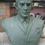Бюст, скульптура, фигура, буквы из бетона, Челябинск