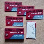 Лезвия для Безопасной Бритвы Seagull Brand, Челябинск