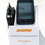 Продам очень дёшево смартфон DIGMA FIRST XS350 2G, Челябинск