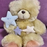 Мишка teddy cо звездами мягкая игрушка, Челябинск