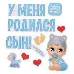 У меня родился сын магниты на машину выписка из роддома, Челябинск
