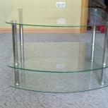 Тумба  стеклянная ( подставка), Челябинск