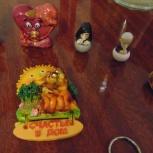 Статуэтку сердечко валентинка продам или поменяю на фигурку лисы, Челябинск