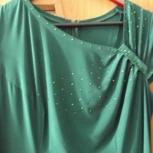 платье р. 50 цвет зеленый, Челябинск