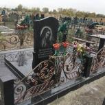 Памятники, оградки, Челябинск