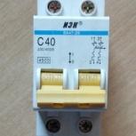 Автоматический выключатель ИЭК ВА 47-29 С40, Челябинск