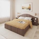 Новая двуспальная кровать N118 с тумбами, Челябинск
