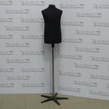 Торс детский, черный, подставка пластиковая (звезда), а102, Челябинск