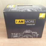 Продам зеркальный фотоаппарат Nikon D3200, Челябинск