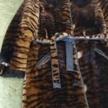 Продам шубу облегчённый мутон с воротником норка, Челябинск
