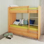 Новая двухярусная кровать №01, Челябинск
