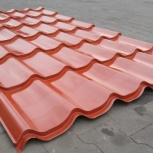 Листы металлочерепицы на крышу Ral2001, Челябинск, Челябинск