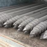 Винтовые сваи с литым наконечником типы лопасть и шуруп, ароса ооо, Челябинск