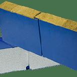 Стеновая (фасадная) сэндвич-панель ПСМ и ПСП 100 мм, Челябинск