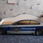 Кроватка  - машинка с матрасом, Челябинск