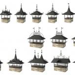 Дымник кованые декоративные, Челябинск
