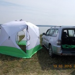 Палатка Куб 2,5х2,5х2,3, 3-х слойна, Челябинск