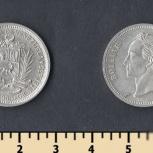 Монета Венесуэла 1965г 1 боливар, Челябинск